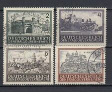 DR, Generalgouvernement, besetzung, 1943, Mi.114-116, used