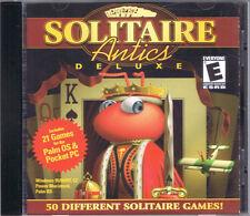 Solitaire Antics Deluxe Jewel Case (PC/Mac, 2000, Masque Publishing)