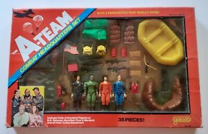A-Team Vintage Combat Headquarters Set Galoob 1983