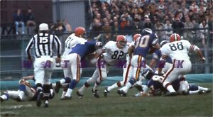 50 YEARS OF NFL FOOTBALL 1969 BROWNS AT VIKINGS PRINT (comes in 3 sizes)