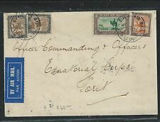 Country South Of Egypt (P2708B) 1934 A/M To Commanding Officer Equatorial Corps