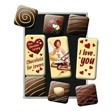 Nostalgie Magnet-Set - Chocolate for Lovers