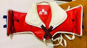 AAMA Martial Arts #1 Taekwondo Karate Reversible Sparring Chest Protector Vest