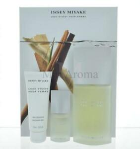 Issey Miyake L'eau D'issey For Men 3 Piece Gift Set