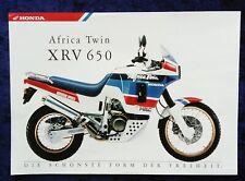 Honda Africa Twin XRV 650 Prospekt