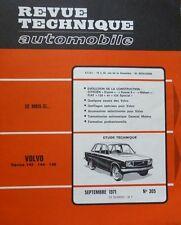NEUF Revue technique VOLVO 142 144 145 RTA 305 1971 CITROEN DYANE MEHARI FIAT124