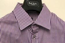 Paul Smith Camisa De Cuadros LONDON 15 EU38 corte clásico Made in Italy