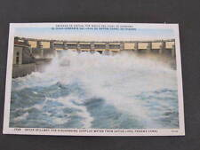 Gatun Spillway for discharging surplus water Panama Canal Postcard