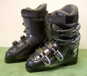 Rossignol Saphir STX Ski Boots with Thermo Fit Liner  Size Mondo 24.5 UK 5 Black