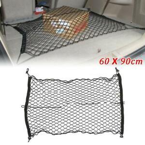60X90cm Elastic Nylon Rear Cargo Truck Storage Organizer Flexible Net For Car