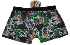 Herren Star Wars - Darth Vader, Yoda, Karikatur Boxer Shorts