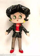 "Betty Boop 14"" Posable Soft Body Biker Doll New"