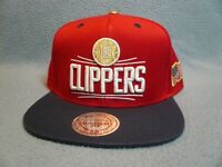 Mitchell & Ness Los Angeles Clippers USA 2.0 2-tone NEW Snapback cap hat LA LAC