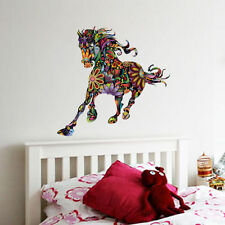 Horse Head Wall Decals Horse PVC Wall Sticker Animal Decal Living Room Decor DIY