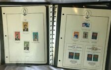 John F. Kennedy World Wide Memorial Stamp Album - many stamps