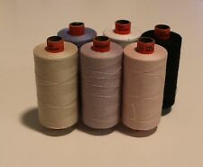 Rasant 120 ..Six(6) 1000 mtr Rolls any colour ...Cotton covered poly core thread
