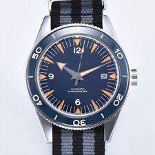 41MM CORGEUT Blue Dial Sapphire Glass Luminous Date Automatic Men's Watch