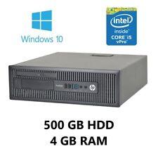 HP ProDesk 600 G1 SFF Desktop (Windows 10, Intel Core i5 3.20GHz, 4GB, 500GB)