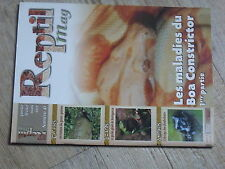 $$ Revue Reptil mag N°47 Boa constrictor  tortues apalone  gecko geant Madagasca
