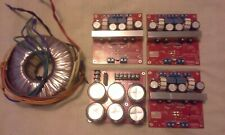 Class D Audio CDA DIY amp kit: power supply, toroid, 3 stereo boards