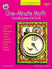One-Minute Math Developmental Drill, Level A: Multiplication, Factors 0 to 5
