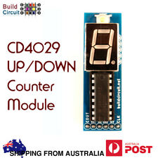 CD4029- Up Down Counter for Arduino- 1 Digit Up Down Counter Module + AU stock