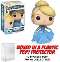 Funko POP! Disney ~ CINDERELLA (#222)(FLOWING DRESS) FIGURE w/Protector Case
