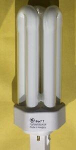 4x General Electric Longlast Biax-t 26watt GX24d-3  2Pin 35952 (C1)