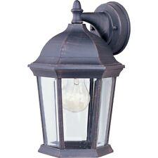 Maxim Builder Cast 1-Light Outdoor Wall Lantern Rust Patina - 1024RP