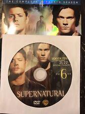 Supernatural - Season 4, Disc 6 REPLACEMENT DISC (not full season)