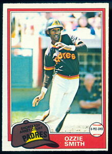 1981 TOPPS OPC O PEE CHEE Baseball #254 OZZIE SMITH NM ST LOUIS CARDINALS card