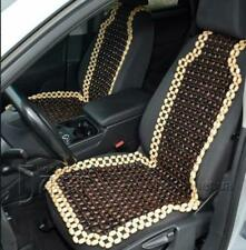 Wooden Beaded Massage Therapy Vehicle Car Seat Cover Chair Cushion Rolling New