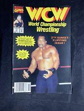 WCW World Championship Wrestling Number 7 Marvel Comics October 1992