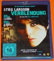 Blu-ray DVD - STIEG LARSSON - VERBLENDUNG ( MILLENIUM TRIOLOGIE TEIL 1 ) FSK 16