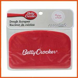 Betty Crocker Dough Scraper Pastry Scraper Dough Knife Bench Scraper Tool