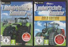 Landwirtschafts Simulator 2009 Gold + Landwirtschafts Simulator 2011 Sammlung