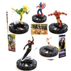 Heroclix Avengers Defenders War #023 WASP, 026, 012, 011, 010 Avengers lot