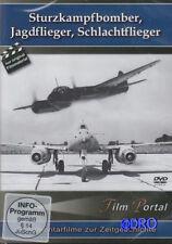 DVD + Sturzkampfbomber + Jagdflieger + Schlachtflieger + Original Filmmaterial +