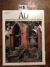 AD - N.84 - MAGGIO 1988 - ARCHITECTURAL DIGEST. LE PIU' BELLE CASE DEL MONDO