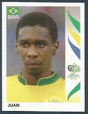PANINI FIFA WORLD CUP-GERMANY 2006- #383-BRAZIL-JUAN