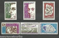FRANCE - 1974 YT 1783 à 1788 - TIMBRES NEUFS** LUXE