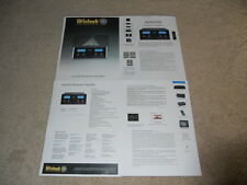 McIntosh MA6500 Amp Brochure, 4 pg, Specs, Info, NICE