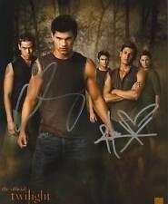 CHASKE SPENCER ALEX MERAZ Autogramm + Twilight New Moon Breaking Dawn Autograph