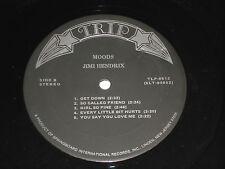 JIMI HENDRIX Moods VG++ (NO COVER, just vinyl) Trip TLP-9512 Original