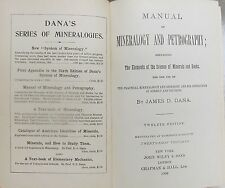 Manual of Mineralogy and Petrography by Dana James