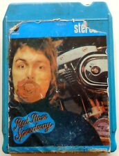 CARTRIDGE TRACK TAPE CASSETTA STEREO 8 RED ROSE SPEEDWAY PAUL McCARTNEY WINGS