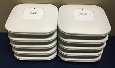 Lot (10) Cisco Aironet AIR-LAP1142N-A-K9 Wireless Access Point *Tested/Reset*