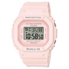 Casio BABY-G SHOCK BGD560-4 Matte Pink Standard Digital Alarm 200m Ladies Watch