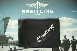 BREITLING JEWELER WATCH DEMONSTRATING BLACK SALES AID PROTECTIVE POLISHING CLOTH