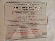 CHRISTINA AGUILERA Lile Kim PINK Mya Lady Marmalade CD! BRAND NEW! PROMO ONLY!!